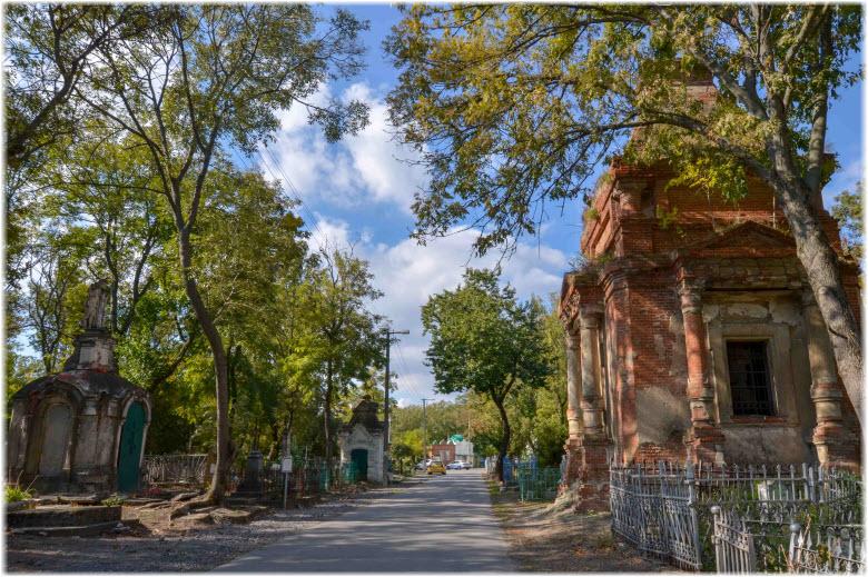 Старое кладбище в Таганроге