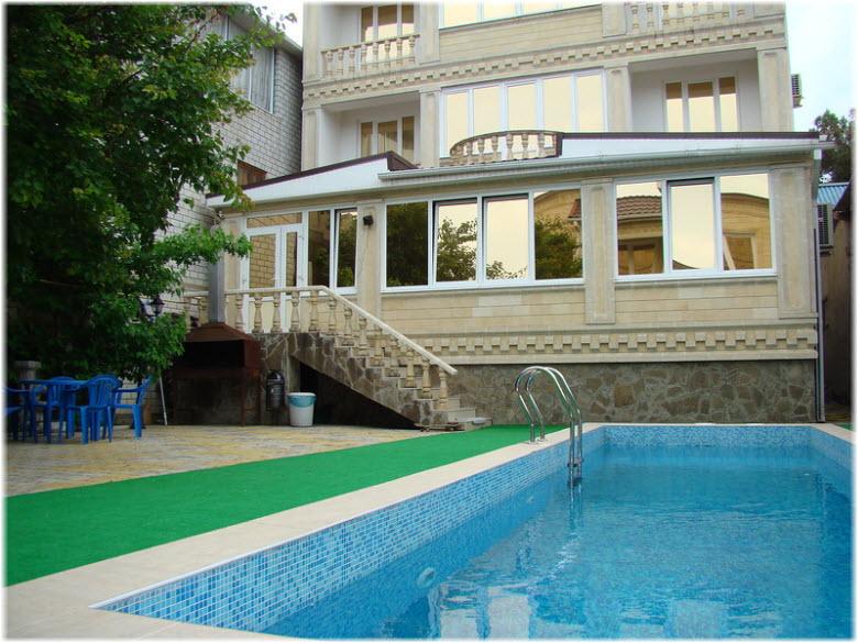 жилье в Анапе с бассейном