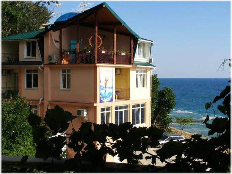 жилье в Хосте на берегу моря