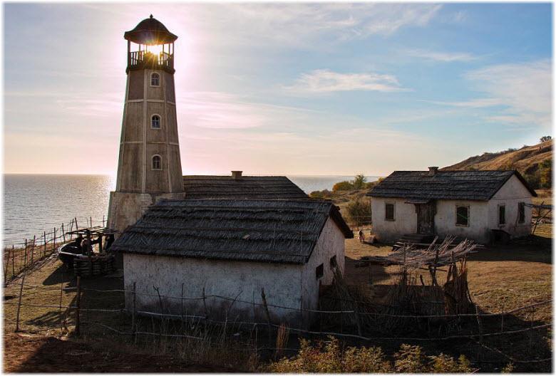 декорации к фильму Смотритель маяка