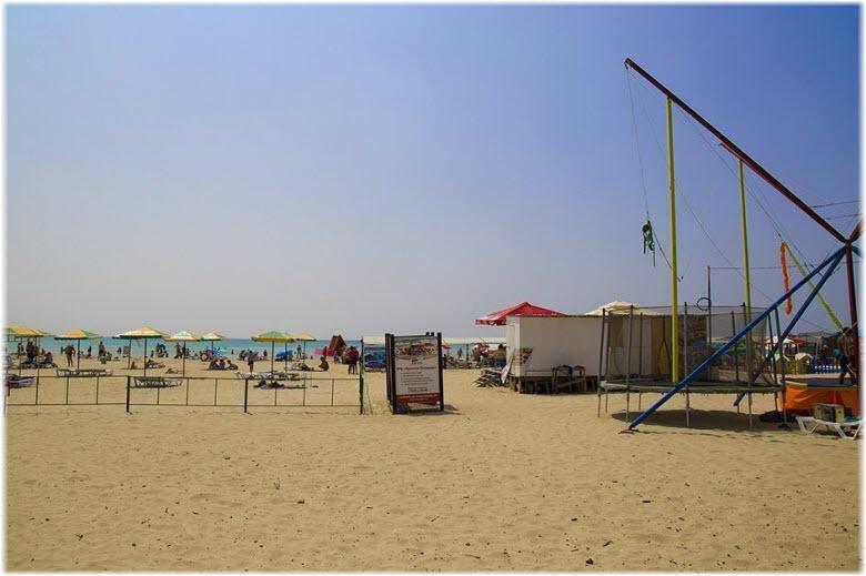 фото Центрального пляжа Джемете