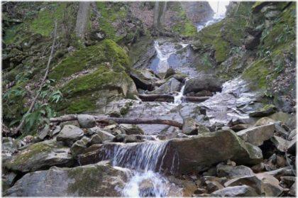 Наташкины водопады в Северском районе