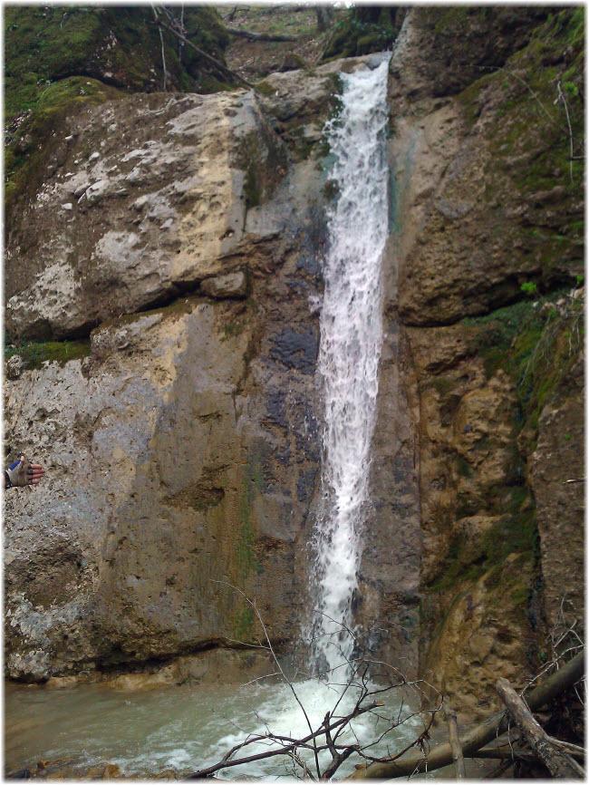 второй Наташкин водопад