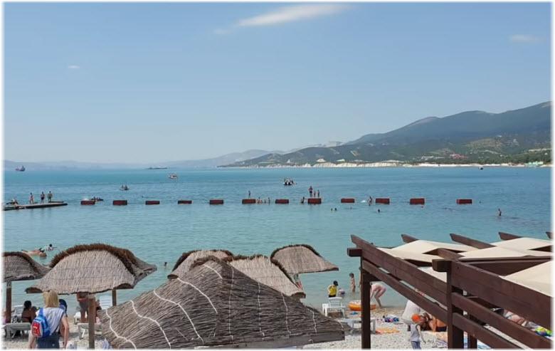 фото пляжа Оазис