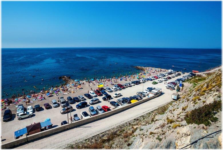 фото Прохоровского пляжа