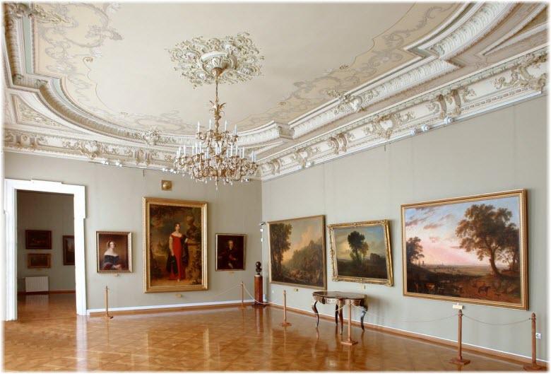 коллекция картин в Художественном музее