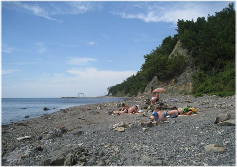 Пляж кемпинга «Сосны»