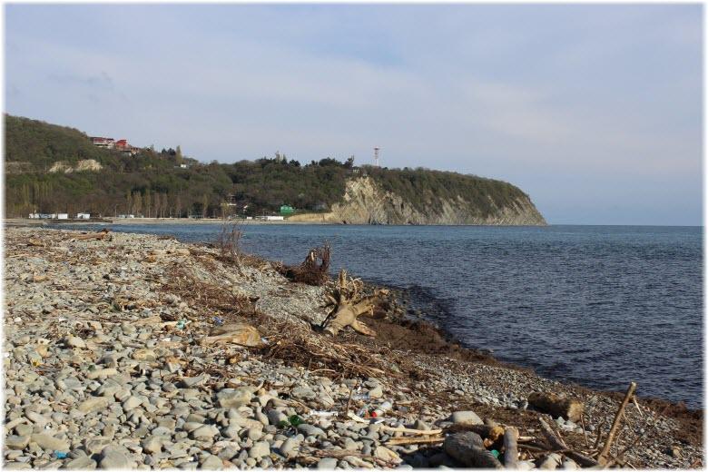 пляж на западе Криницы