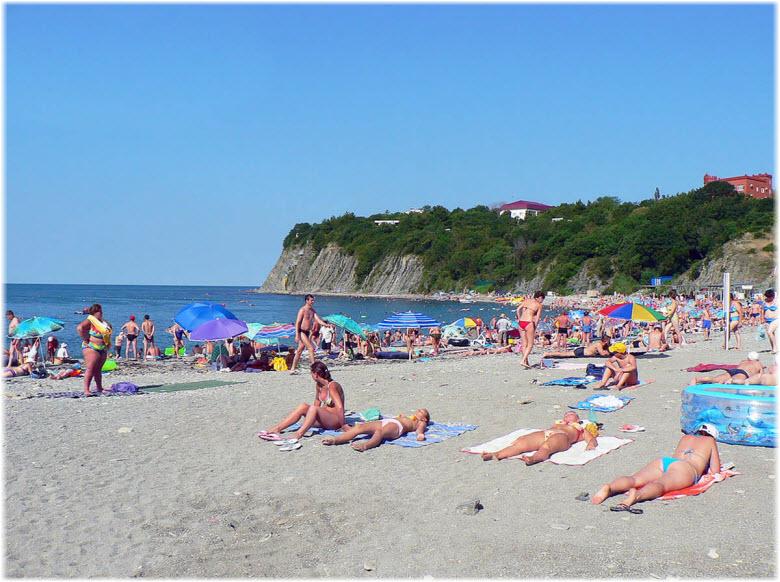 Центральный пляж Бетты