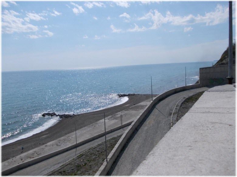 вид на море и Прохоровский пляж