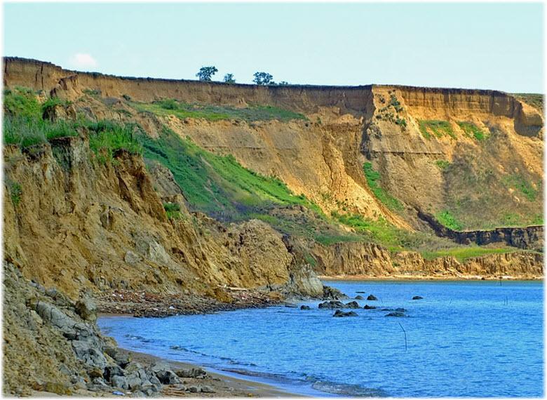 дикие пляжи Волны