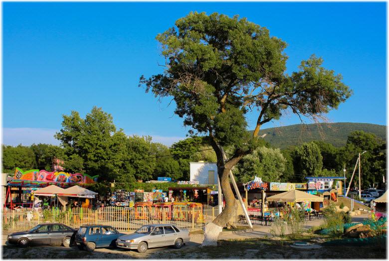 фото лунапарка в Кабардинке
