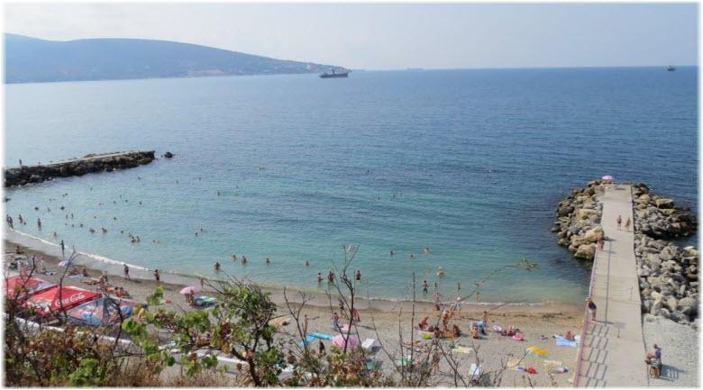 фото пляжа Виктория