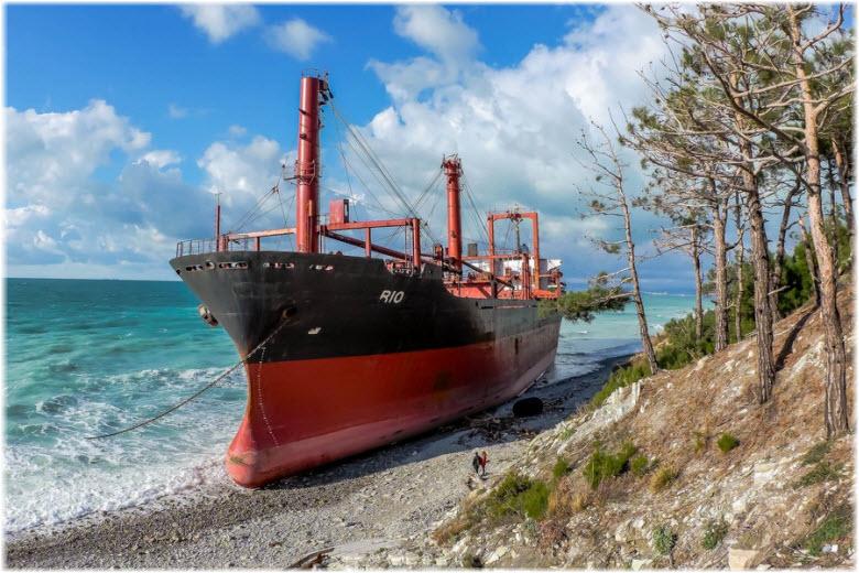 корабль Рио в Кабардинке
