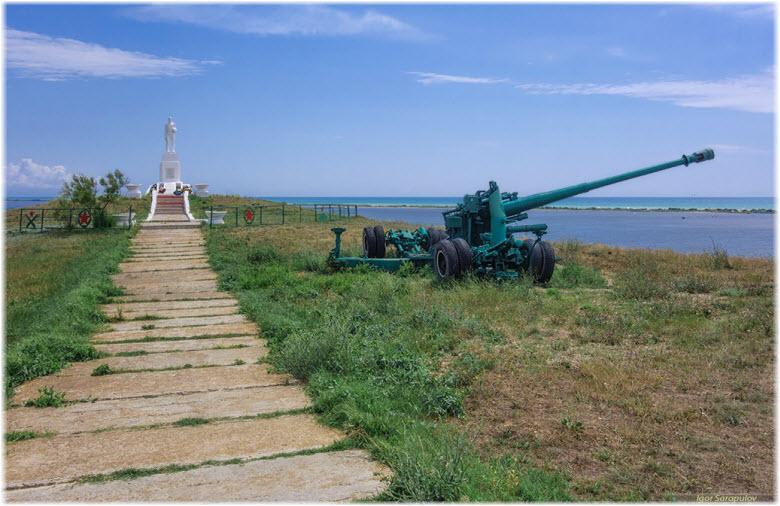 монумент в Веселовке