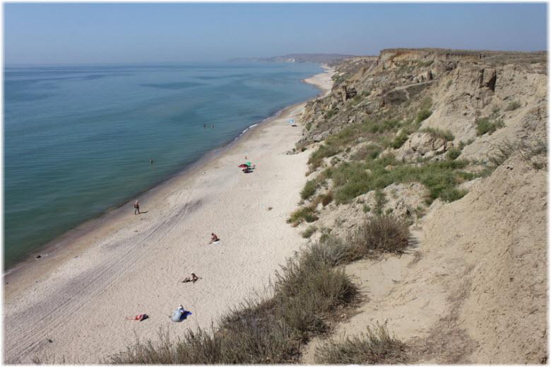 пляж Бугаз