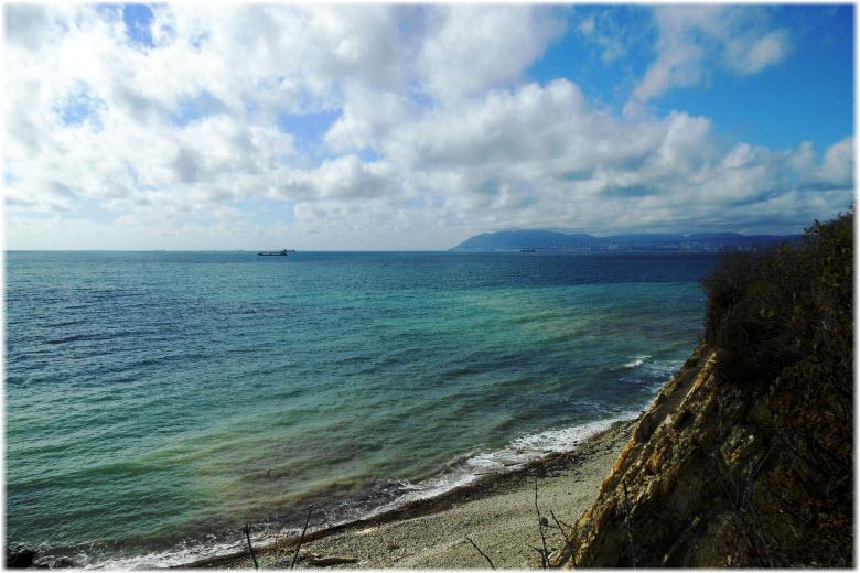пляж между Викторией и Берегом