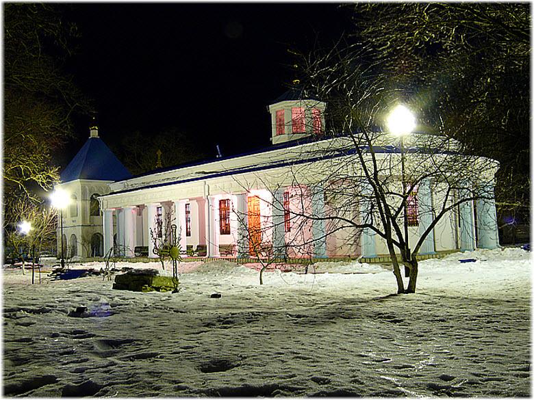 фото храма зимой