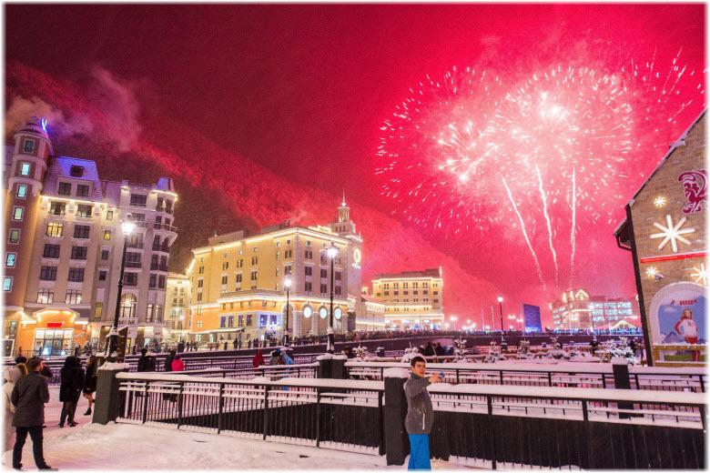 Новый 2020 год на Красной Поляне