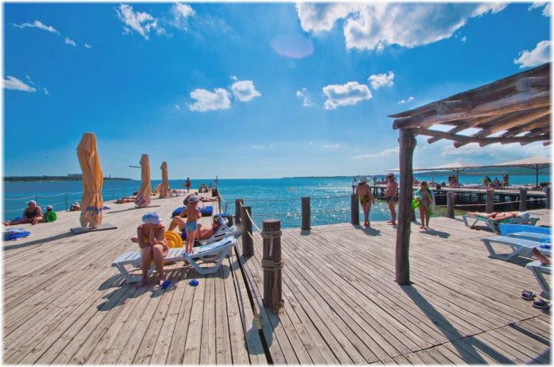 пляж Сосновая роща