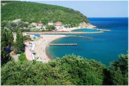 чистые пляжи Геленджика
