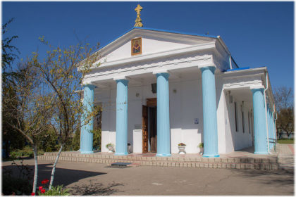 Покровский храм в Тамани