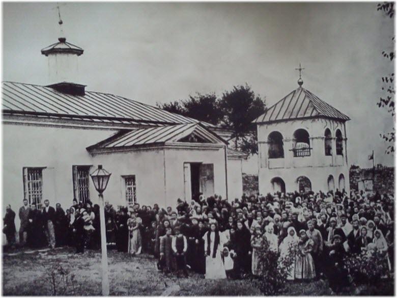 старое фото Таманской церкви