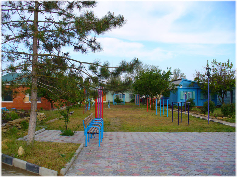 территория базы Гвоздика