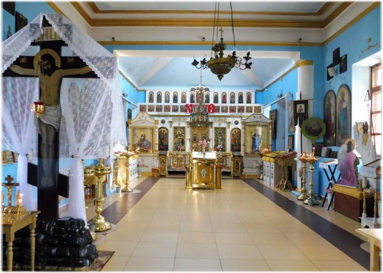 убранство Храма Пресвятой Богородицы