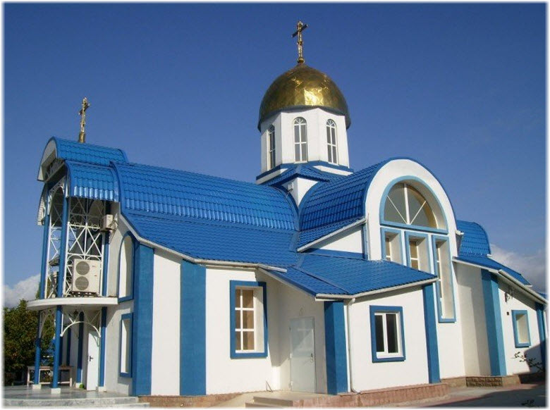 фото фасада храма вблизи