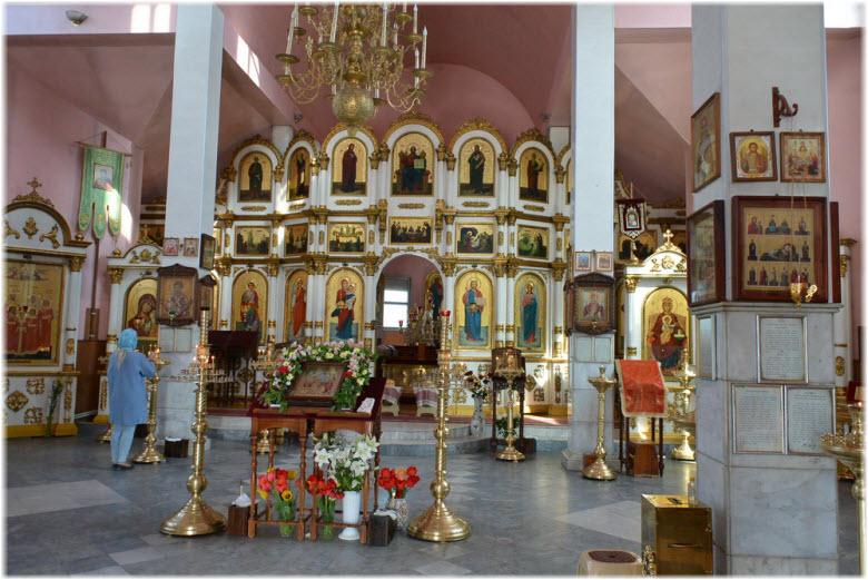 фото интерьера храма
