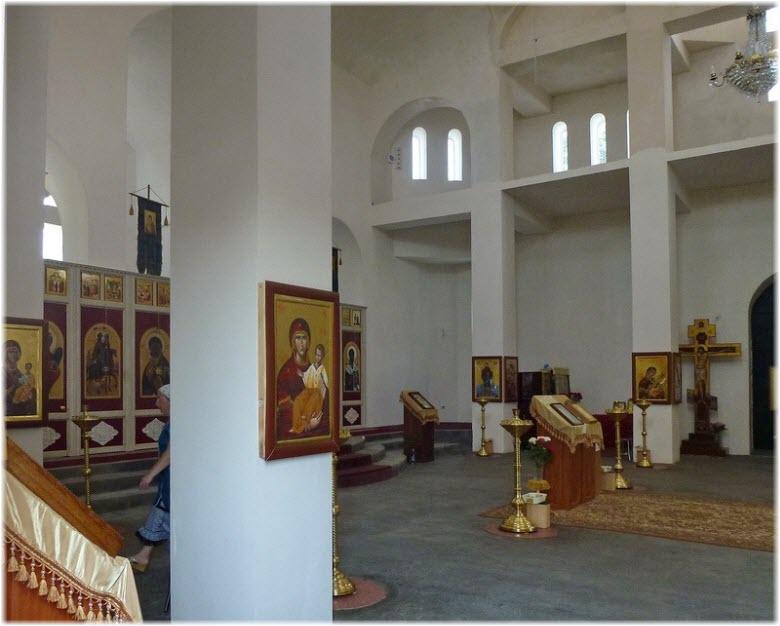 фото внутри Церкви Георгия Победоносца