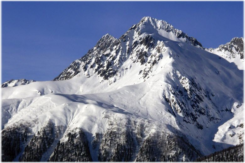 Гора Чугуш в Адыгее