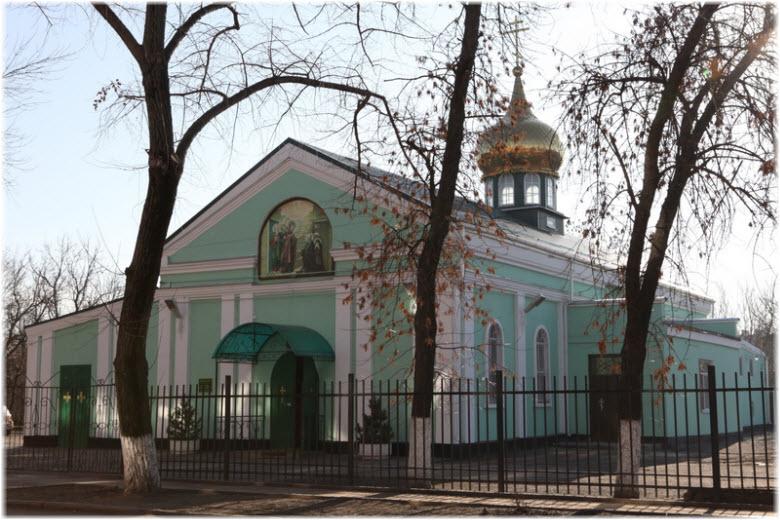 Храм Сергия Радонежского в Таганроге