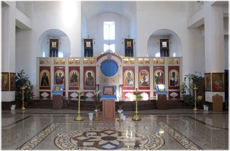 иконостат Храма Святого Георгия