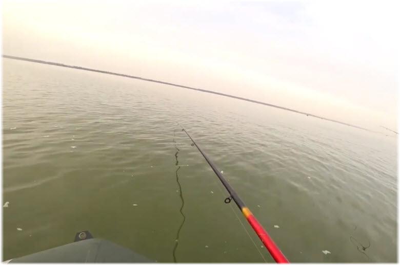 летняя рыбалка на лимане