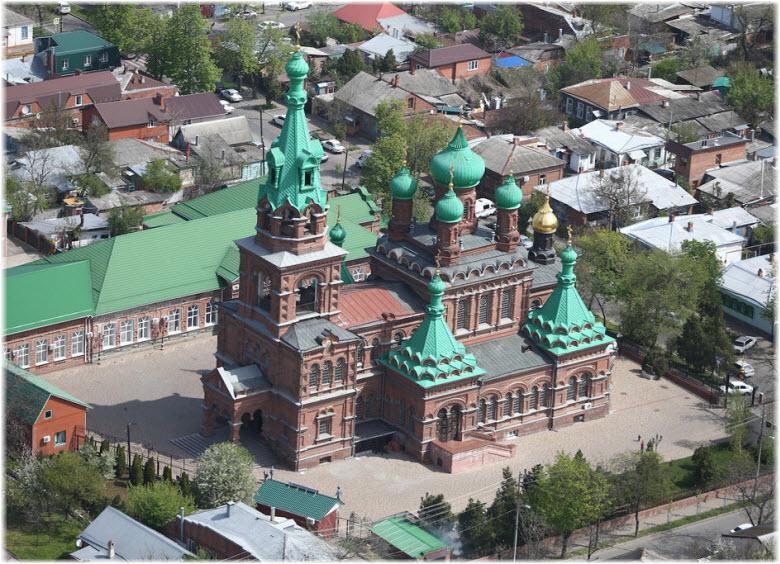 фото храма с высоты