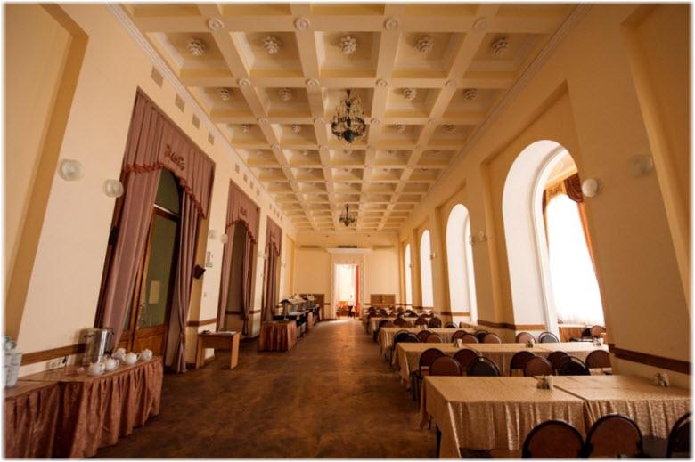 фото ресторана санатория Орджоникидзе