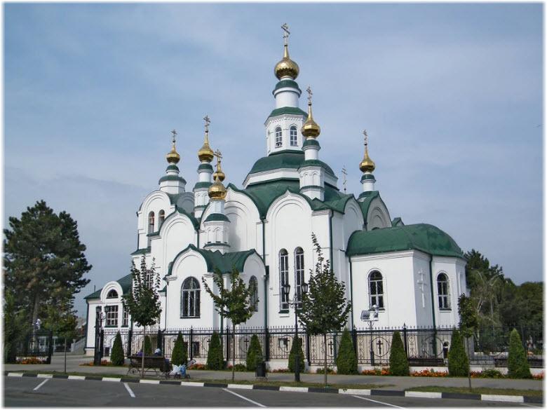 фото собора и парка
