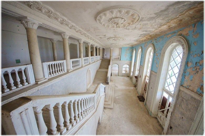 фото внутри санатория Орджоникидзе