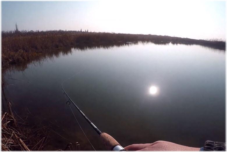 рыбалка на Шапсугском водохранилище
