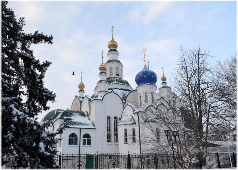 зимнее фото храма