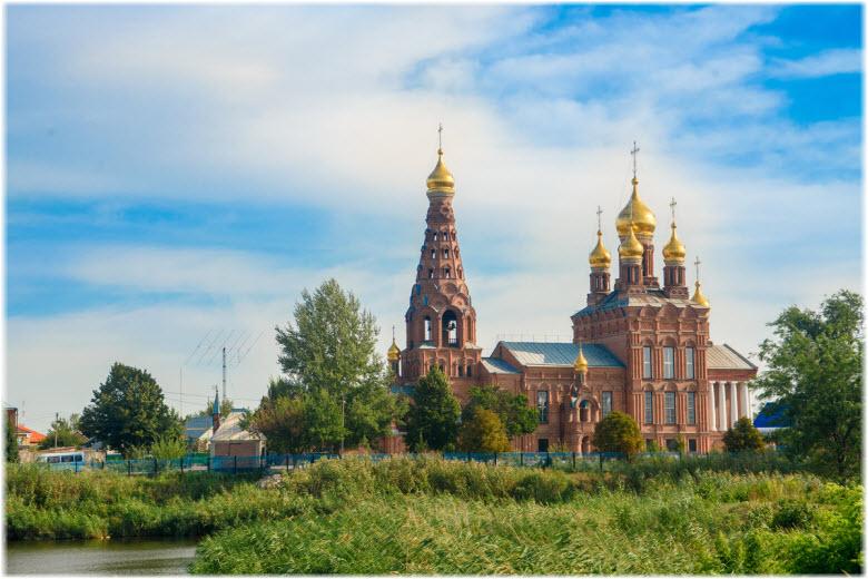 Храм Иоанна Богослова в Кущевской