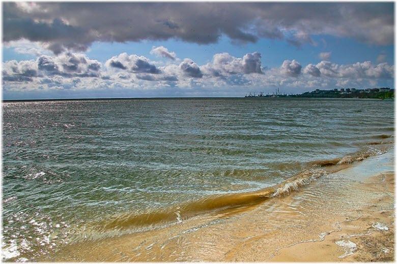 пляжи в Таганрогском заливе