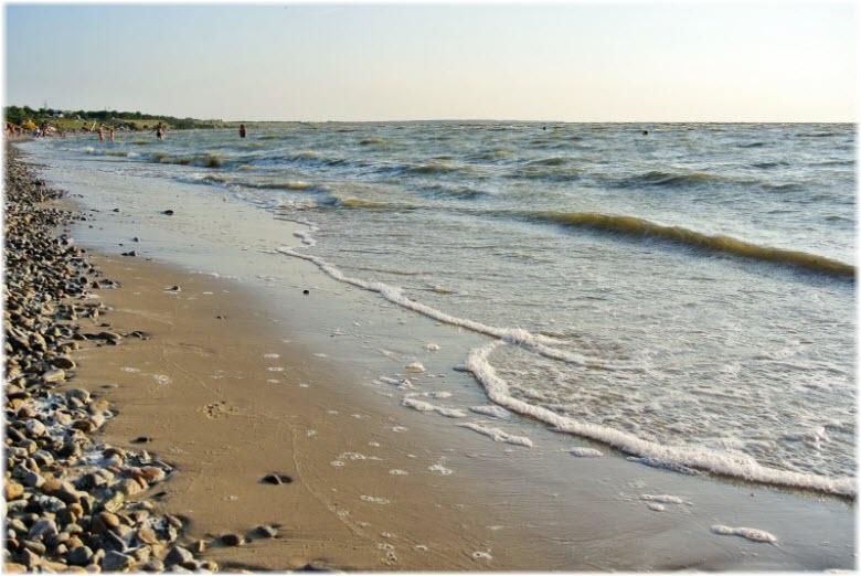 ракушечные пляжи залива