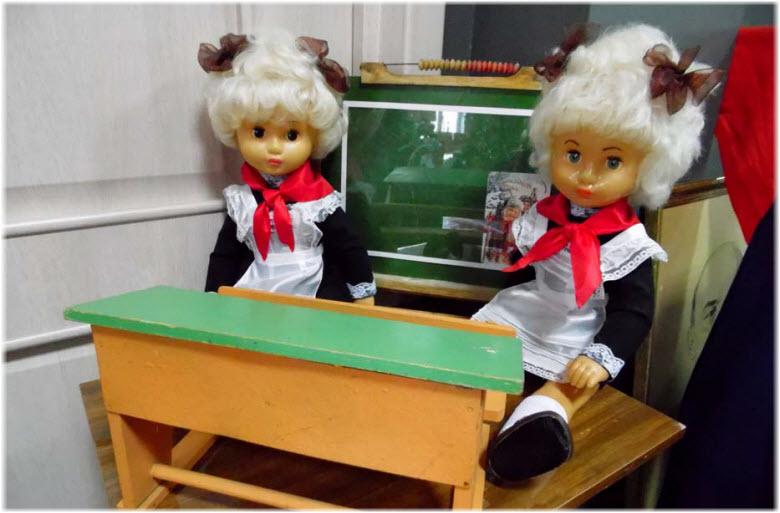 советские куклы в музее