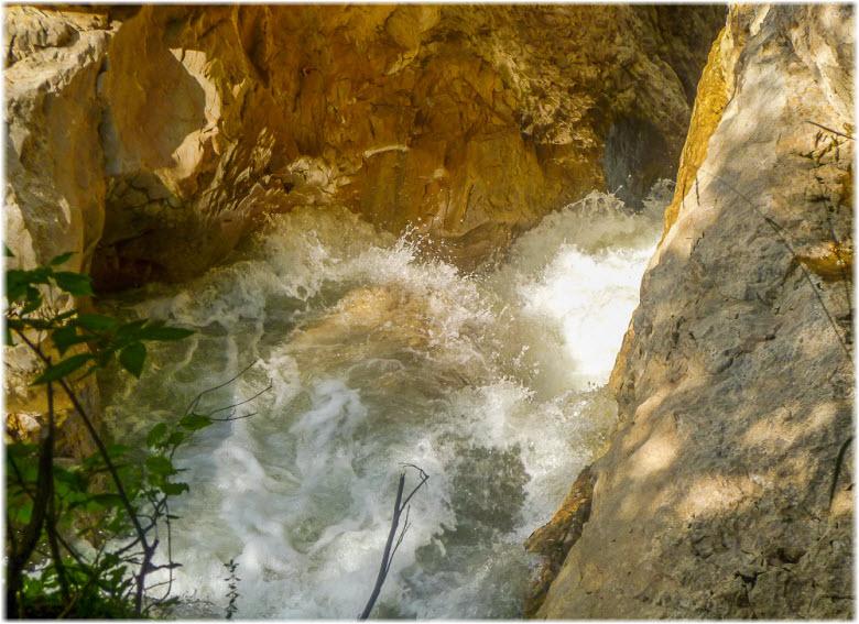 водопад Разлом